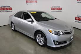 Pre-Owned 2012 Toyota Camry 4dr Car in Escondido #61782 | Toyota ...