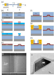 schematic of the fabrication process of a silicon nanowire fet schematic of the fabrication process of a silicon nanowire fet sensor scientific diagram
