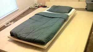 floating bed nd t disposl cn fntstic flotg bedside table white floating bed