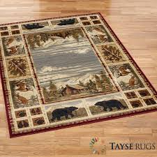 lodge area rugs rustic lodge area rugs touch of class