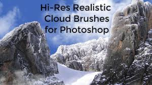 High Res Realistic Cloud Brushes For Photoshop Promo Youtube