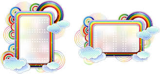 Rainbow Page Border Rainbow Page Border Free Vector Download 7 799 Free Vector For