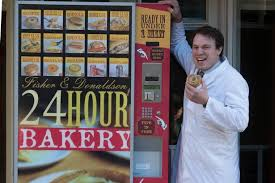 Pie Vending Machine Interesting Bakery's 48hour Hot Pie Vending Machine Proves Roaring Success With