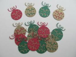 Details About 15 Layered Christmas Ball Diecuts Scrapbooking Cards Invitations Decorations
