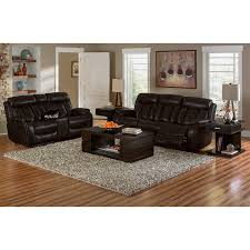 Walnut Living Room Furniture Diablo Power Reclining Sofa Walnut Value City Furniture
