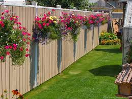 Amazing wooden garden planters ideas try Garden Beds Fence Planter Garden Lovers Club 25 Fence Planters Thatll Have You Loving Your Privacy Fence Again