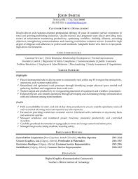 Customer Service Manager Resume Sample & Template