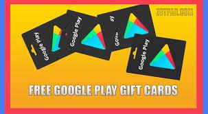 free google play gift cards no survey verification