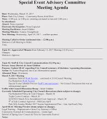 Planning Meeting Agenda Template How To Prepare An Agenda For Event Planning With Free