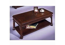traditional mahogany coffee table