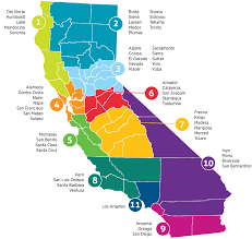 California Regions Regions Ccsesa Arts Initiative