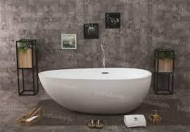 freestanding stone bathtub. kobia freestanding corner tub/bath/small round bathtub / solid surface stone