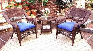 wicker patio table all weather resin sets white wicker patio side table