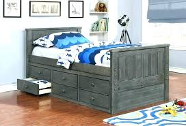 Full Bed With Trundle And Storage Full Size Trundle Beds With