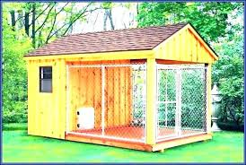 indoor outdoor dog kennel plans pen ideas building pe