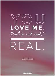 Hunger Games Quotes Classy Peeta And Katniss The Hunger Games Quotes Popsugar Katniss Quotes