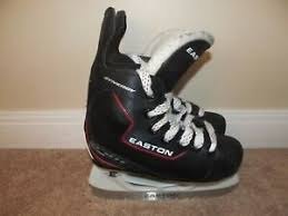 Details About Size 10 Youth Easton Synergy Eq 111 Hockey Skates Very Good