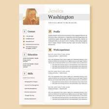 Creative Job Resume Best Of Creative And Professional Resume Template In Microsoft Word Cv With