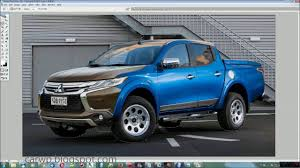 2018 mitsubishi l200 triton. wonderful l200 4k photoshop 2018 mitsubishi l200 facelift youtube with  strada throughout mitsubishi l200 triton t
