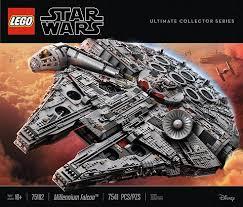 lego star wars ucs falcon display ideas