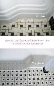 the error proof way to get perfect caulk lines bathtub caulking tape tub masking