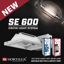 the se 600 reflector was designed around 600w lamps to create a consistent and uniform distribution of light