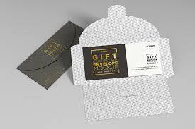 Gift Envelope Invitation Gift Check Mockup