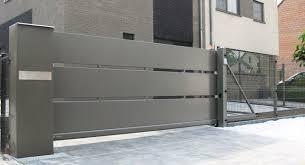 modern metal gate. Sliding Gate / Metal Bar Panel Modern U