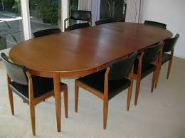 1960s mid century modern teak dining table chairs bramin danish teak dining table dining