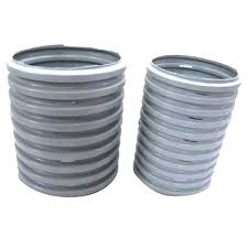 pvc corrugated perforated pipe for drinking water