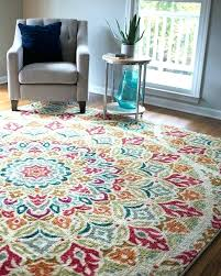 Blue Throw Rugs Bright Colored Incredible Best Colorful Ideas On Bohemian Rug And Throughout Neutral Color Kitchen