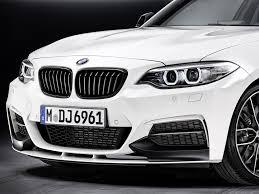 BMW Convertible bmw series 2 coupe : BMW Genuine M Performance Front Splitter Black Matt F22 2 Series ...