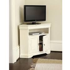 flat screen tv stands for small spaces. angullo corner media cabinet for from ballard designs. this tv is designed to take advantage of every square inch in smaller spaces like a flat screen tv stands small b