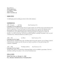 Airline Customer Service Representative Cover Letter Sample Eursto Com