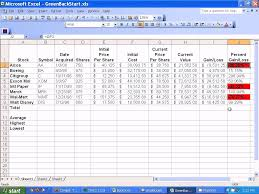 Stock Record Keeping Excel Sheet Microsoft Excel Setting Up Stocks Spreadsheet Youtube