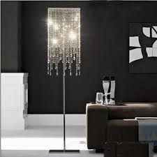cool crystal chandelier floor lamps top chandelier intended for ucwords