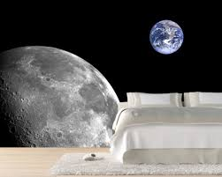 white fur rug wallpaper. space themed cool wallpaper ideas in white theme bedroom and laminate floor under soft fur rug plus a set of bed sheet i