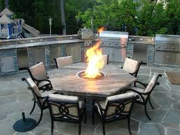 terrific patio set with fire pit patio patio dining tables with fire pit