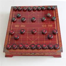 Old Fashioned Wooden Games 100 Set Antique Wooden Chinese Chess Game Desktop 100MM Old Mahogany 72