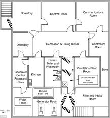 UNDERGROUND SHELTERS BUILDING PLANS Floor Plans  underground    Underground Bunker Floor Plans DopePicz
