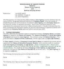Memorandum Of Understanding Templates Google Docs Free Mou