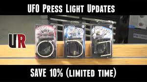 Ufo Press Light Updtes From Kms Squared Save 10 For A