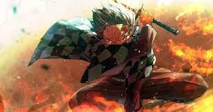 Kimetsu No Yaiba - Fire God Tanjiro ...