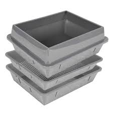 extra large litter box with high sides awesome hometec lift n sift 4 piece system tray