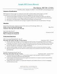 Mft Resume. Engineering Intern Engineer Sample Resume 9 Mft ...