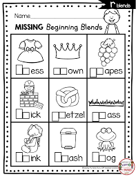 To link to this s blends missing worksheets page, copy the following code to your site Math Worksheet Phonics Unit Consonant Blends Freebie Kindergarten Math Worksheet Incredible 61 Incredible Kindergarten Phonics Worksheets Roleplayersensemble