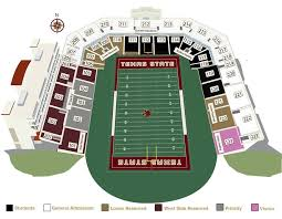 Ut Texas Football Stadium Seat Chart Bobcat Stadium Bobcat Stadium Home Of Texas State Football