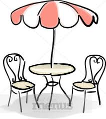table and chairs clipart. clipart info table and chairs