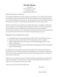 Sales Associate Cover Letter Inside Resume Examples Mmventures Co