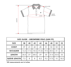 Van Heusen Shirt Size Chart India Polo T Shirts Outlet